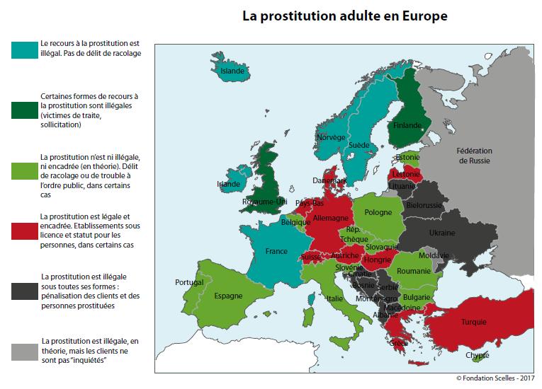 Prostitution en Europe